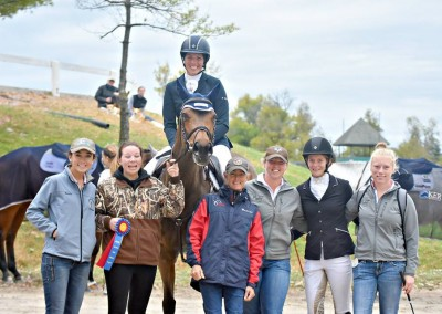 Le Cheval crew at the CCI*